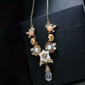 Betsey Johnson Crystal Necklace